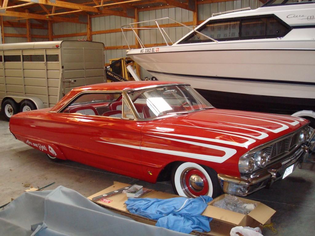 Josh 1964 Ford Galaxie 500 Xl Fast Freddies Rod Shop