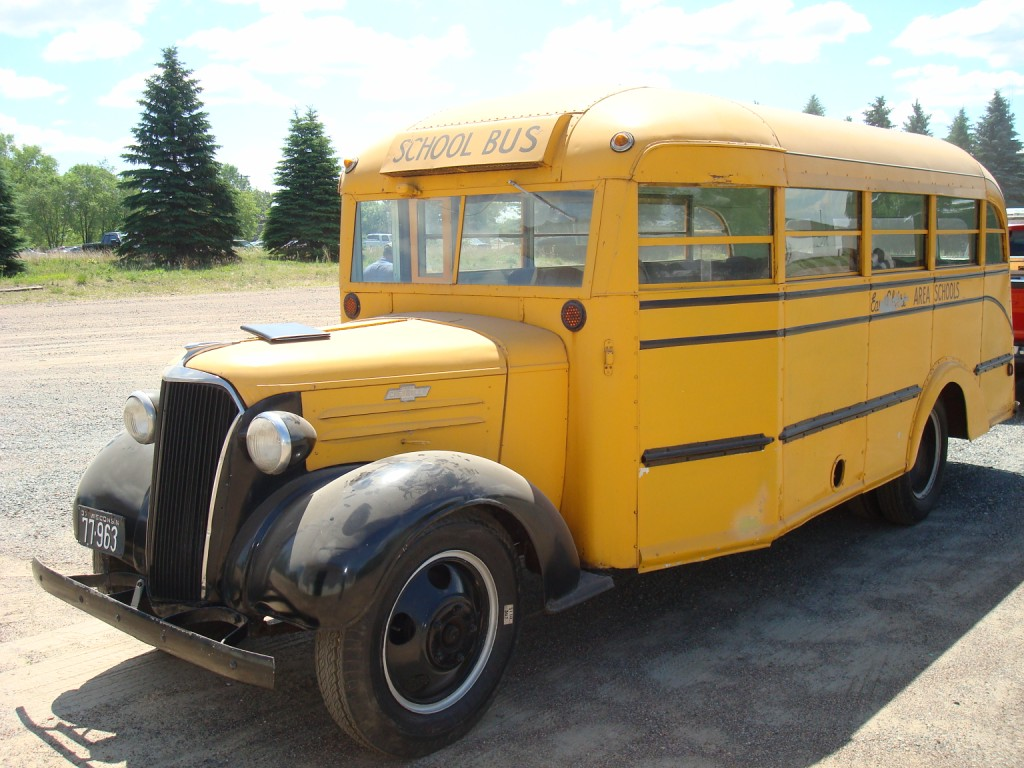 Chevy school bus submited images